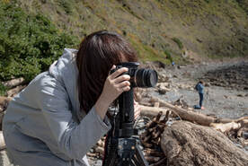 Photo workshop at Makara Beach. Photo: J.Gilberd, photography course, beginners photography lessons, wellington new zealand, photocourse nz